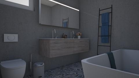 Lux Apt_bath - Modern - by meggle