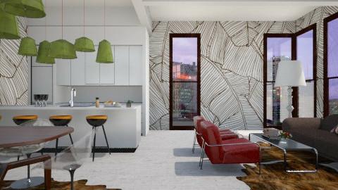 Monoleaves Living - Modern - Living room  - by 3rdfloor