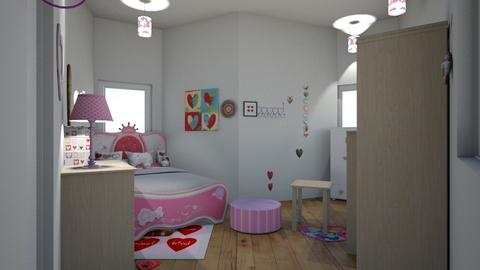 hearts and more hearts - Bedroom  - by cb28026