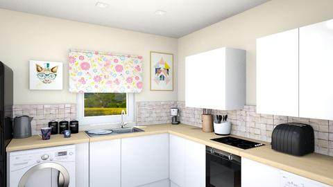 Burnet Kitchen 3 - Kitchen  - by pinklilith