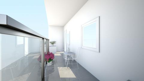 balkon 1 - Minimal - Garden  - by juustyna