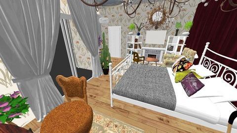 heyyy - Bedroom  - by bonkulus