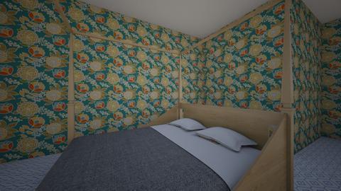 bedroom3 - Vintage - Bedroom  - by kitchen113
