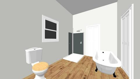 junes bathroom - by Jilleaton