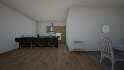 cocinita  - Kitchen - by sofiapazarribas