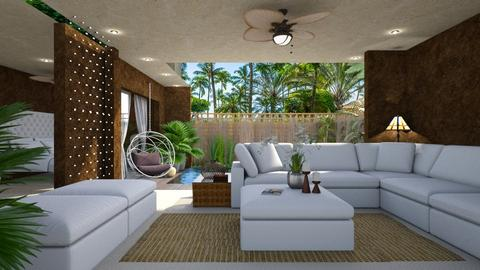 Riviera Maya - Modern - Living room  - by LuzMa HL