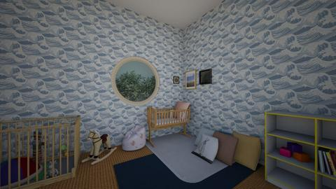 baby bedroom - Classic - Kids room  - by laetitiaizoard