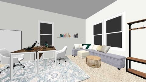 Stone Barn Entry Room - Office  - by danielleusvi