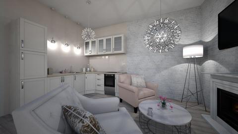 mini house - Glamour - Living room  - by Julie_kol