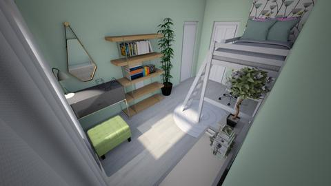 Green peace - Modern - Kids room  - by Oryginal_nickname