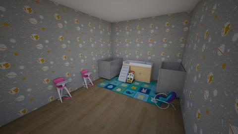 Baby themed room - Modern - Kids room  - by Indiago