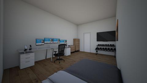 ok - Modern - Bedroom  - by Drixzle
