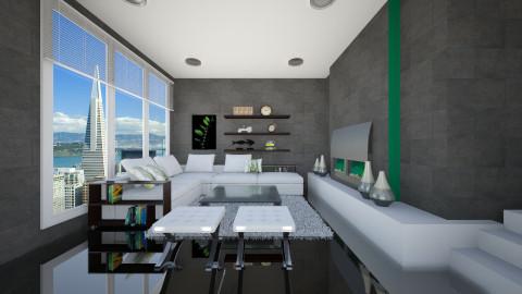 Lin - Living room - by sarimanok
