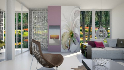 Simple Deco And Murals - Modern - Living room  - by janip