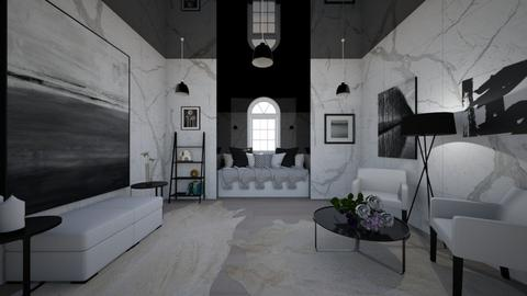 Modern Chic Living Room - Living room  - by dogsrmylife