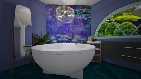 Monet Lilypad room - Bathroom - by loisep1999