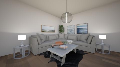 modern living room - Living room  - by laurendesigns20