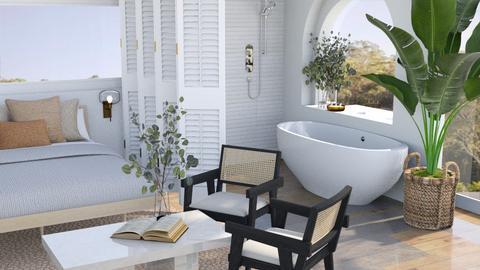 zen master suite  - Bedroom  - by aestheticXdesigns