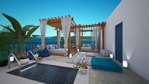 rooftop terrace - Modern - Garden  - by doraszabo