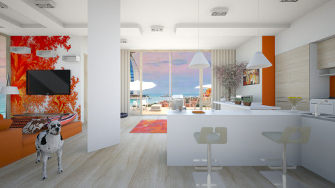 SunSet - Modern - Kitchen - by Pattie_ann