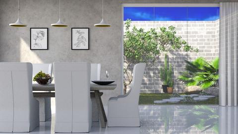scandinavian room - Modern - Dining room  - by RimaNina
