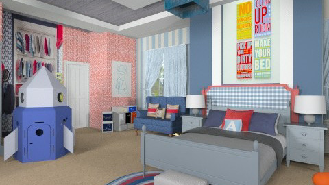 Aiden - Kids room  - by steph01mami