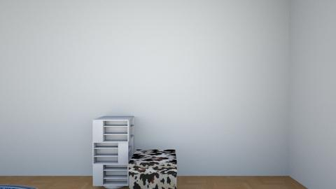 attic bedroom - by craxymonkey