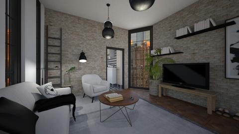 appartment living - Living room - by irisrmks