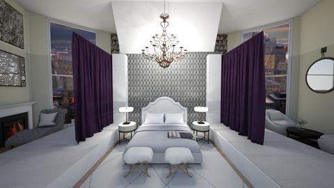 Royal Chandelier - Bedroom  - by mari11
