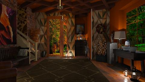 Autumn Hallway - by Sue Bonstra