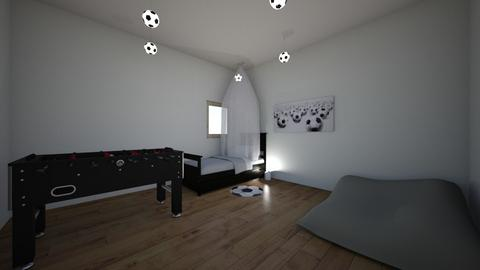 soccer girls room - Kids room  - by kballard