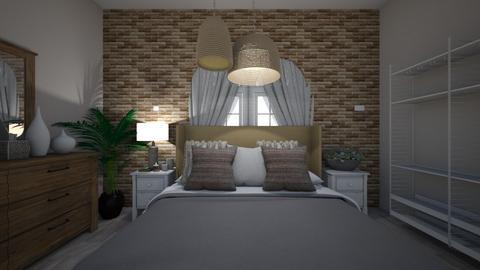 guest bedroom p1 - Bedroom  - by irufaye