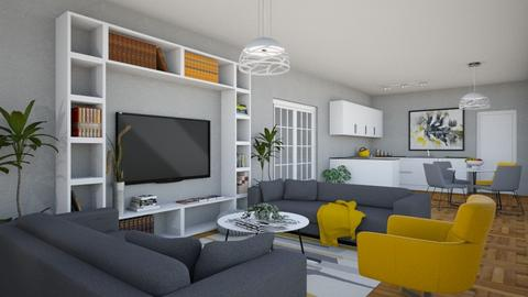 For annarmengou94_Apt A - Eclectic - Living room - by Theadora