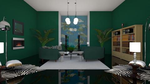 Green chill - Living room  - by riordan simpson