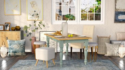 Mid Century Modern Dining - Dining room - by millerfam