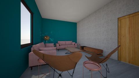 GH Cedre Living room 01 - Modern - Living room  - by hussamix