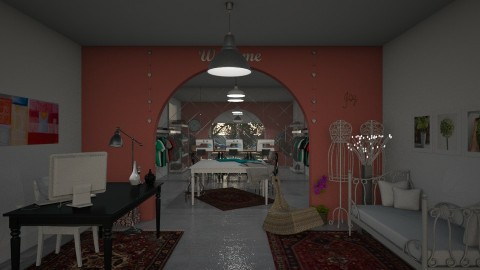 Office Aleksandra - Vintage - Office  - by Annathea