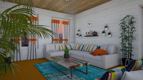 Orange Carpet - by XqveenXlove