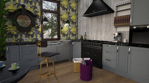 kitchen 2 - Retro - by marmart8