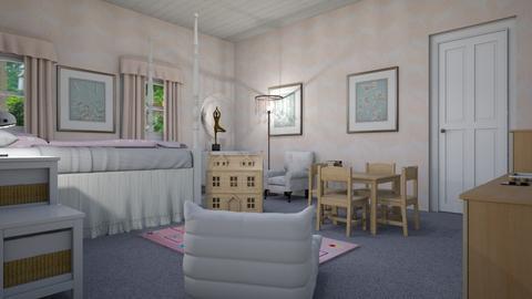 girl - Kids room  - by steker2344