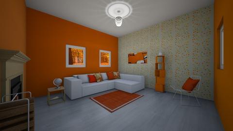Fall Day in LA idk - Modern - Living room  - by greekgirl37