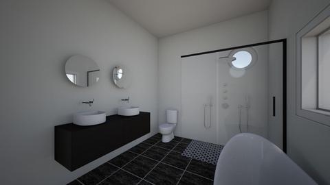 Master - Bathroom  - by evealpern