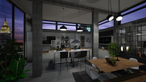 Urban Jungle Kitchen - by klara992