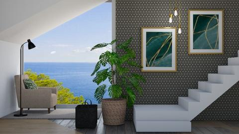 Stairs - Modern - Living room  - by ana pogorelec