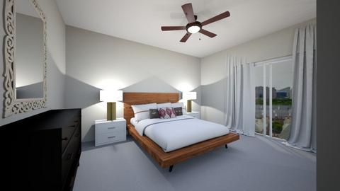 Overcrest Master - Eclectic - Bedroom  - by natalielsherman