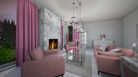 Paula - Glamour - Living room  - by byPaula