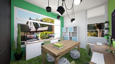 M Wu - Living room  - by louisdhe