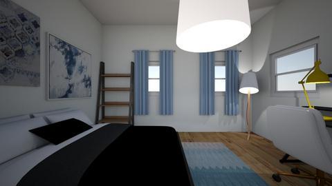 Bedroom das Schlafzimmer - Bedroom  - by zoeee123