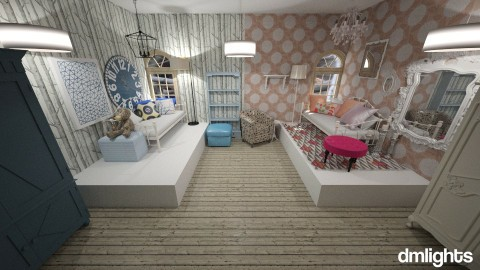 twins - Kids room  - by DMLights-user-1527155