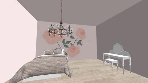 Asthetic Bedroom - Glamour - Bedroom  - by Margaret Horsman